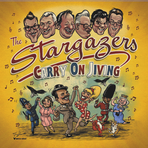Carry On Jiving - Now on VINYL - LP  on Ruby Tone Records by The Stargazers