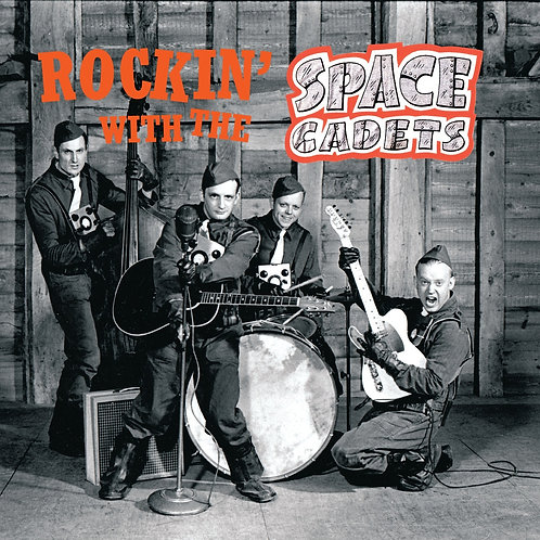 """Rockin' With The Space Cadets - CD digipak - 20 track """"Best Of"""""""