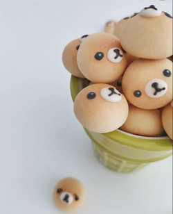 Cartoon Bread Ball