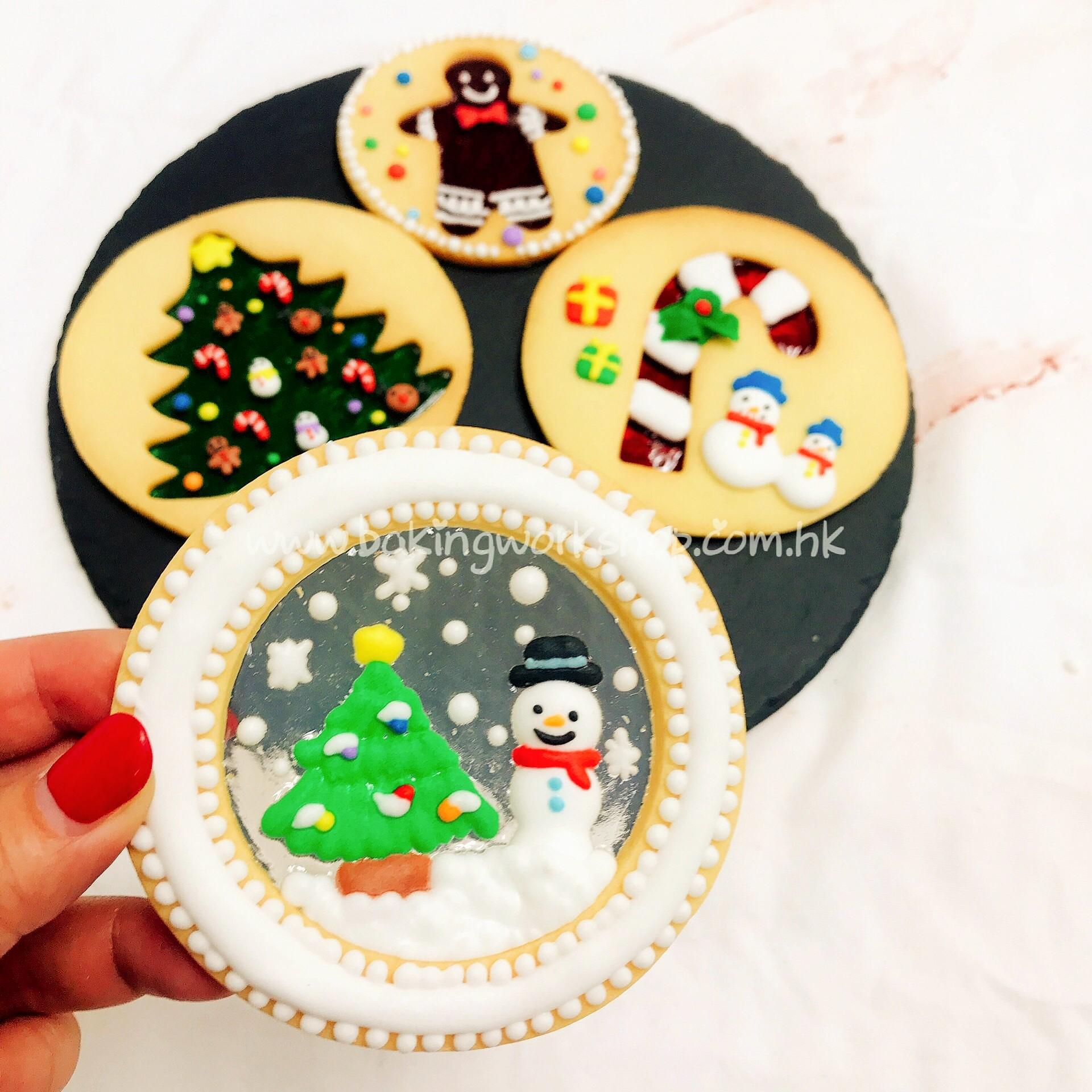 Christmas Glass Cookies