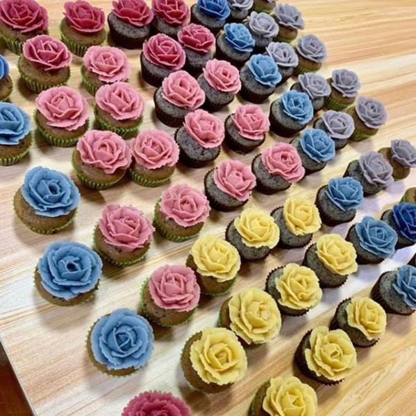 Carine Vegan cupcakes