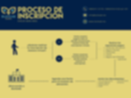 Yellow and Blue Enrollment Process Flowc