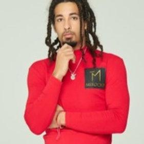 MEROCKI MEN CASUAL DRESS SHIRT W LOGO