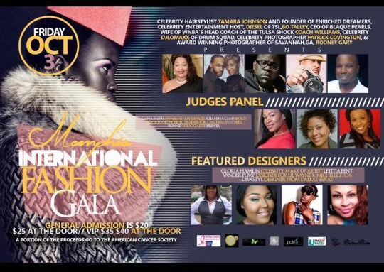 Memphis International Fashion Gala