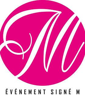 Logo - Évènement signé M (Rond - tout ro