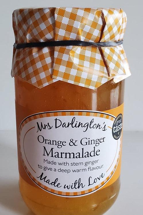 Orange and Ginger Marmalade