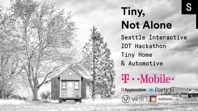 ¡Vamos a ir al IoT Hackathon interactivo de Seattle!