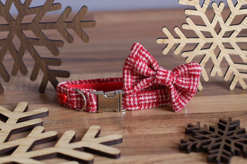 Small The Christmas Cookie Collar and Bow