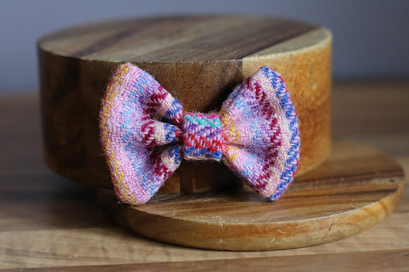 The Blooming Lovely Harris Tweed Bow