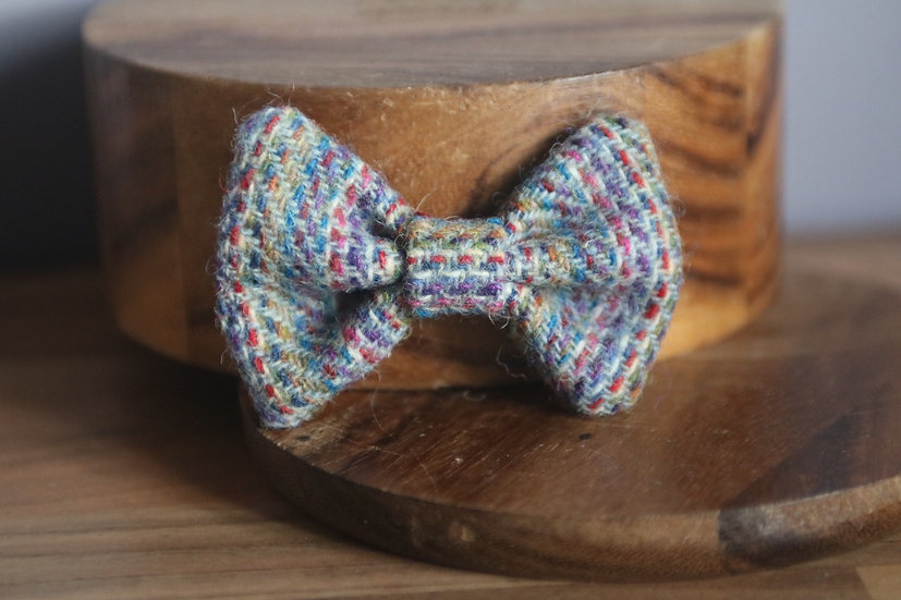 The Forest Floor Harris Tweed Bow