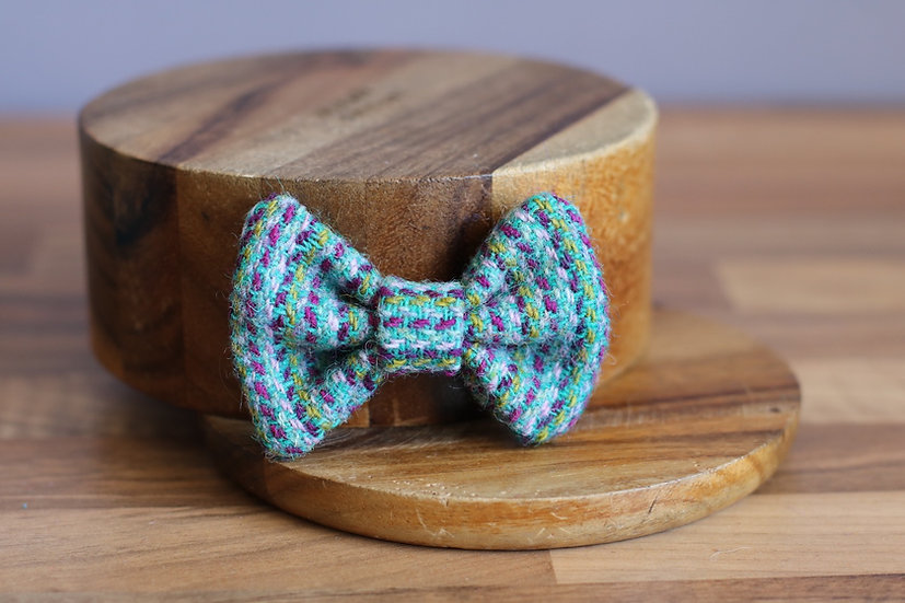 The Flying Saucer Harris Tweed Bow