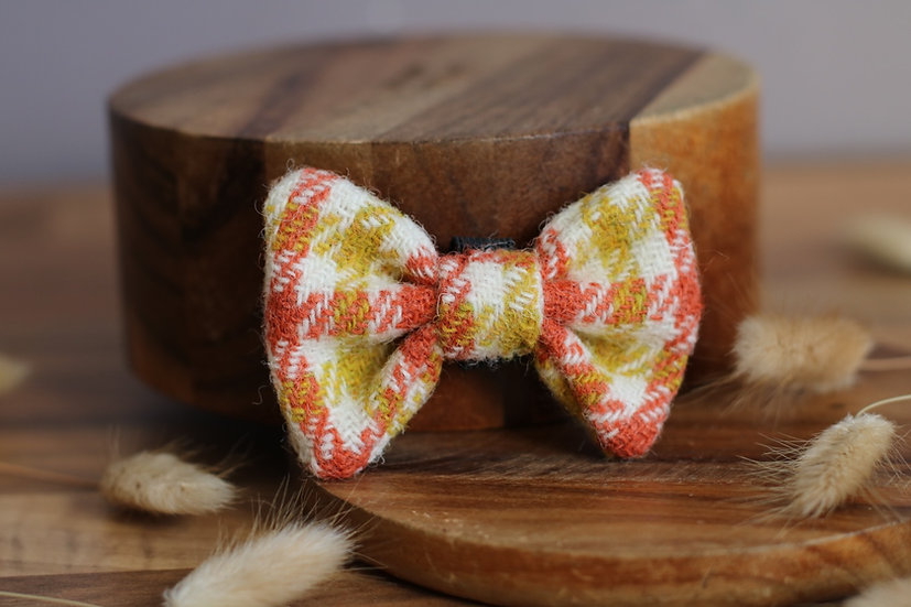 The Golden Ticket Harris Tweed Bow