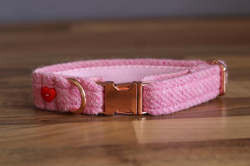 Baby Pink Harris Tweed
