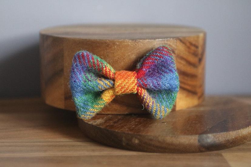 The Picnic Blanket Harris Tweed Bow