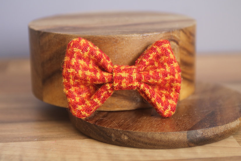 The Bonfire Harris Tweed Bow