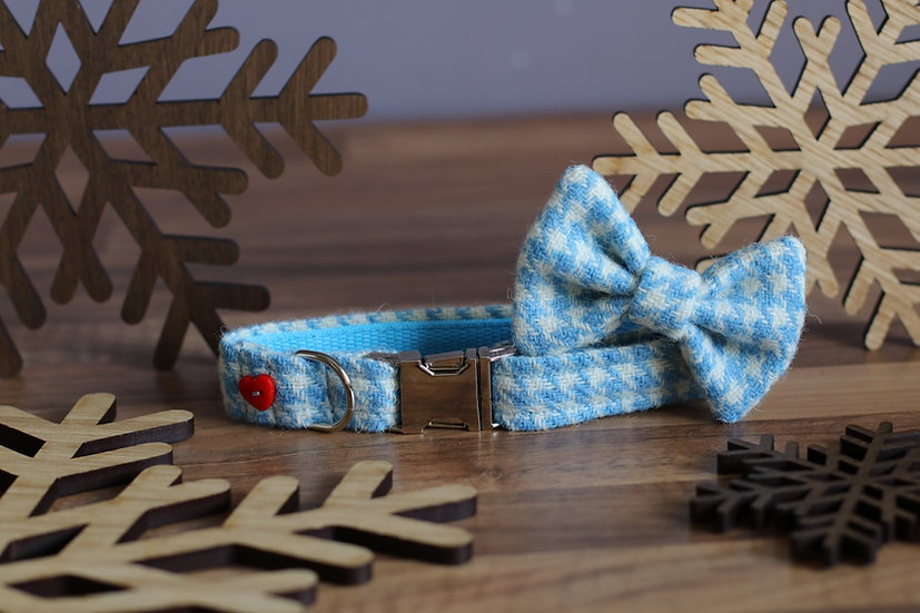 Small The Snowdrop Collar and Bow