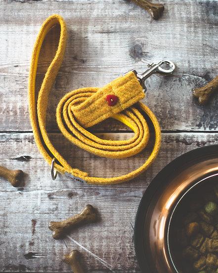 Yellow Harris Tweed Lead
