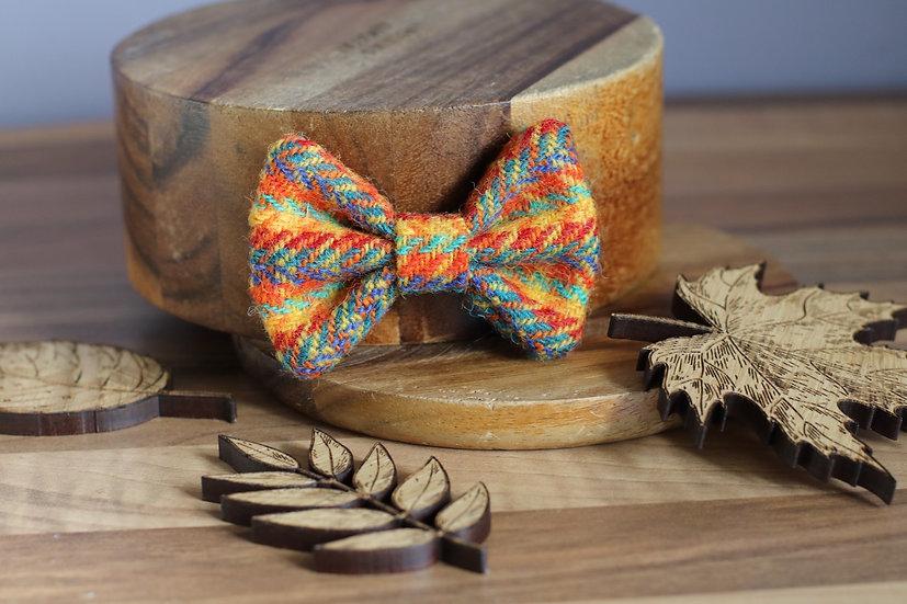 The Autumn Harvest Harris Tweed Bow