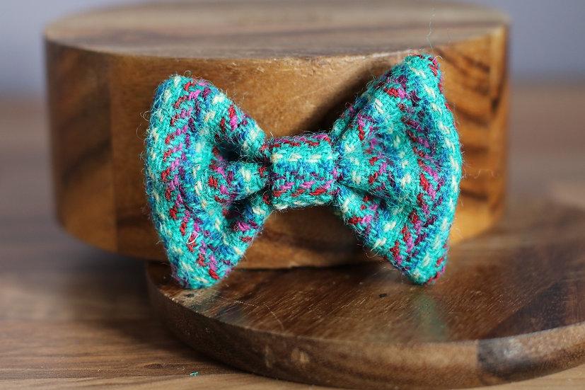 The Majestic Harris Tweed Bow