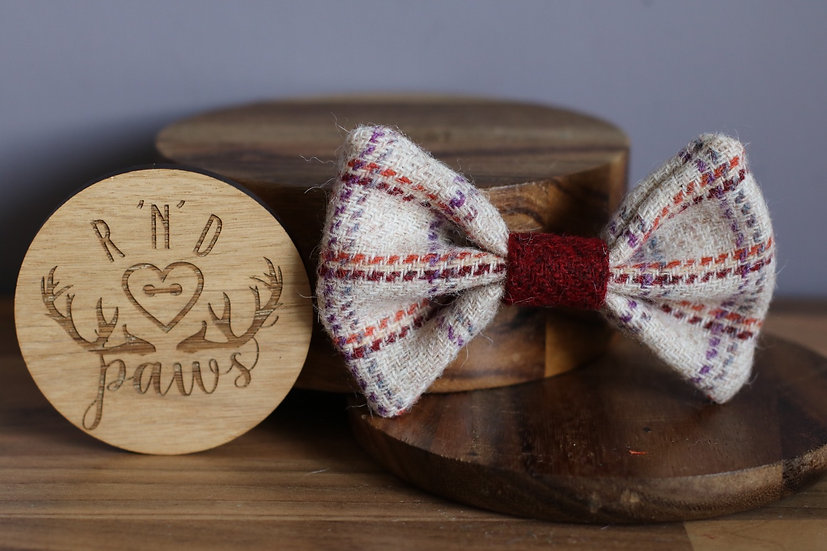 Large The Cali Harris Tweed Bow