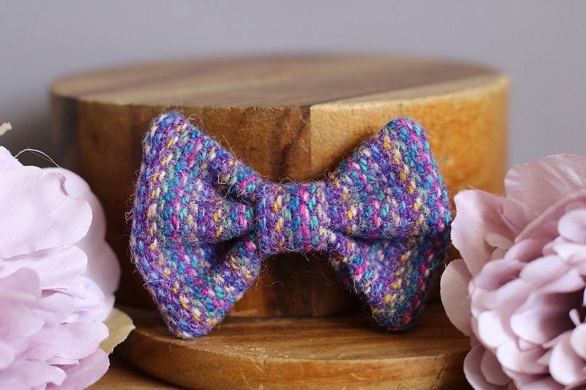 The Kaleidoscope Harris Tweed Bow