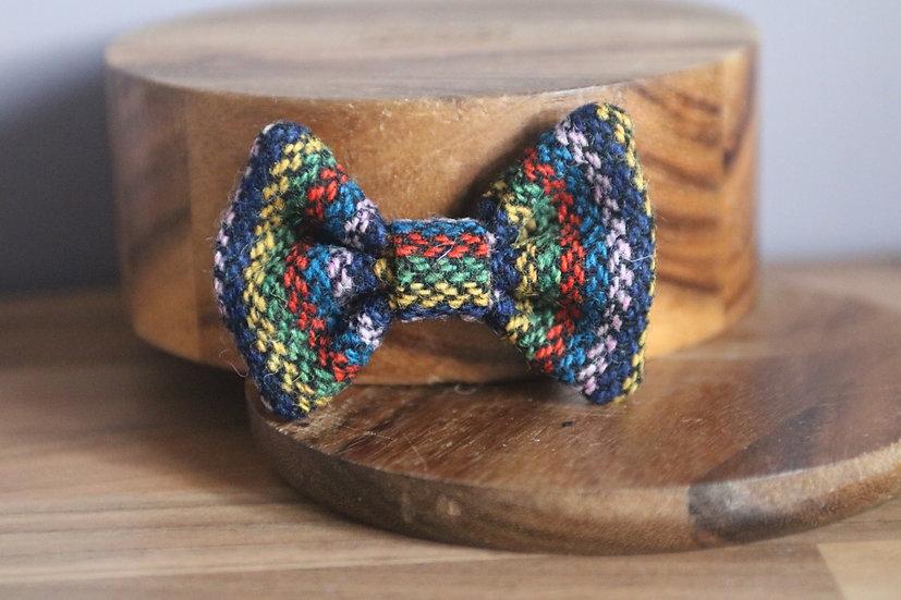 The Grandpa's Cardy Harris Tweed Bow