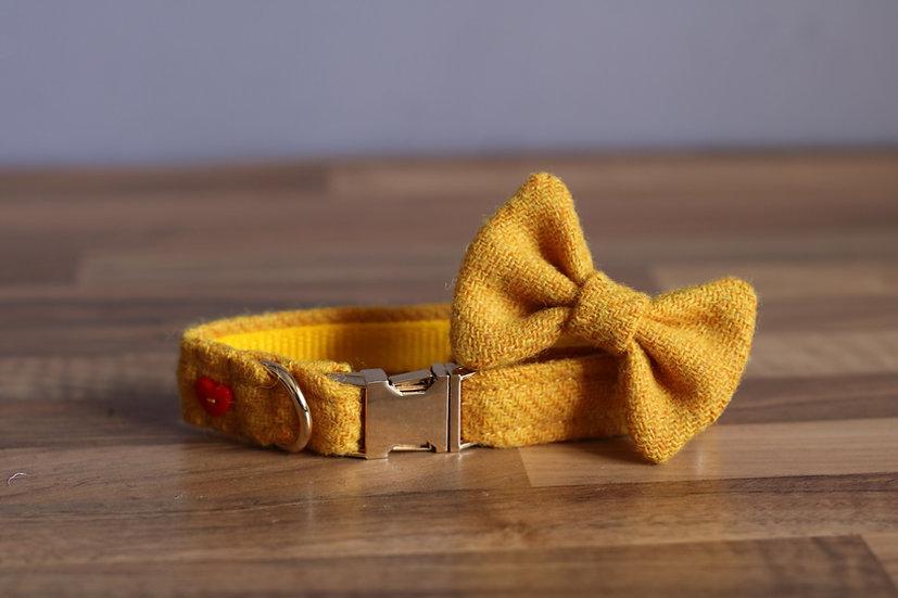 Bright Yellow Harris Tweed