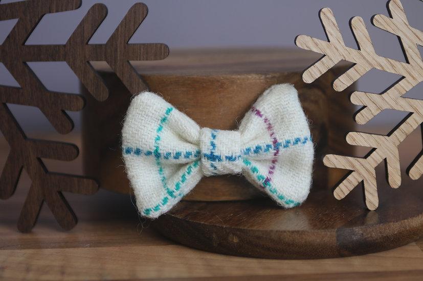 The Winter Wonderland Harris Tweed Bow