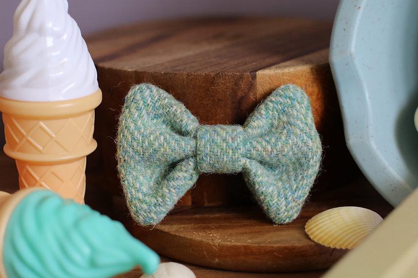 The Seaside Harris Tweed Bow
