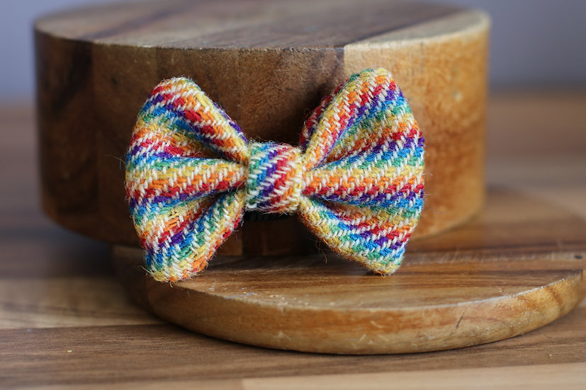 The Pride Harris Tweed Bow
