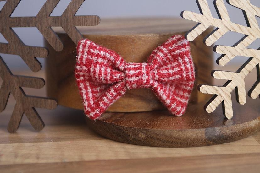The Christmas Cookie Harris Tweed Bow