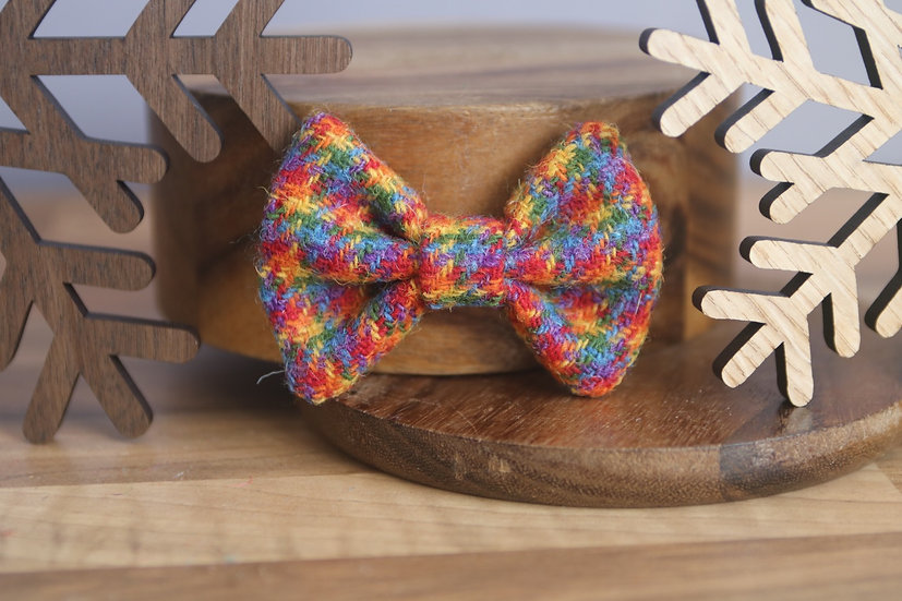 The Celebration Harris Tweed Bow