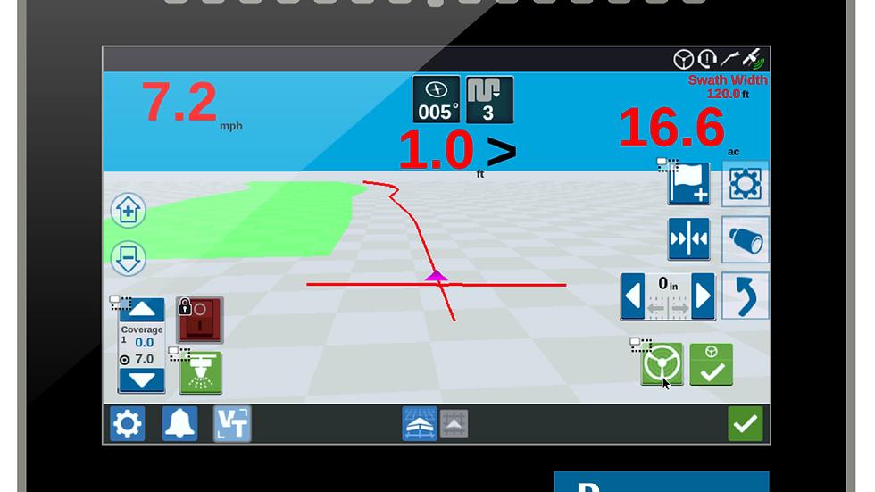 Raven CR7 Automatisch GPS +-25cm nauwkeurig