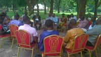 Atelier de réflexion lors de la rencontre internationale ( Groupe1, Groupe2; Groupe3)