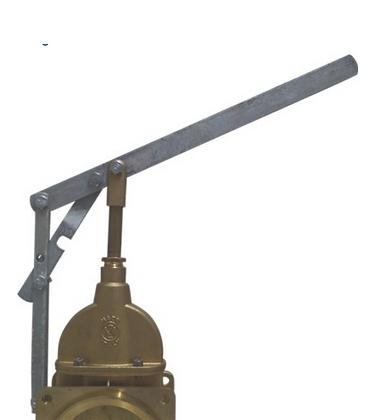 Hebelgarnitur MZ einfache Ausführung