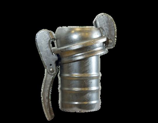 System Bauer Kugel mit Hebelverschlussring auf Tülle