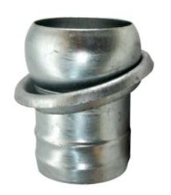 Ital. System Kugel mit Ring auf Tülle