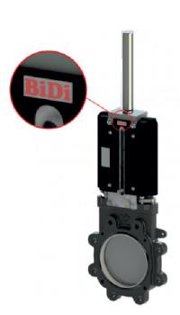 Plattenschieber Typ BP Locker BiDi Hydraulik