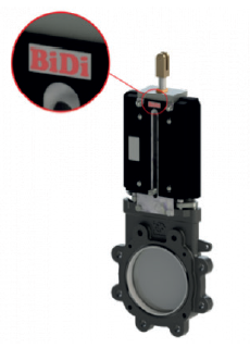Plattenschieber Typ BP Locker BiDi Standard
