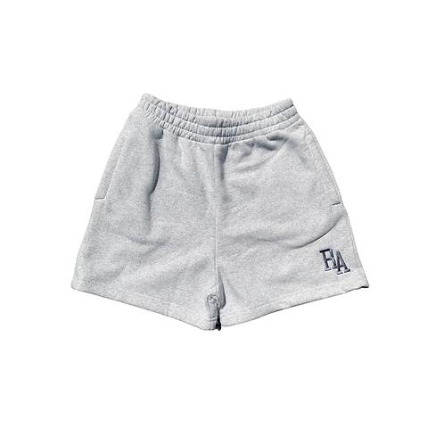 Grey Marl Sweat Pocket Shorts