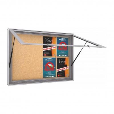 Lockable Cork Notice Board