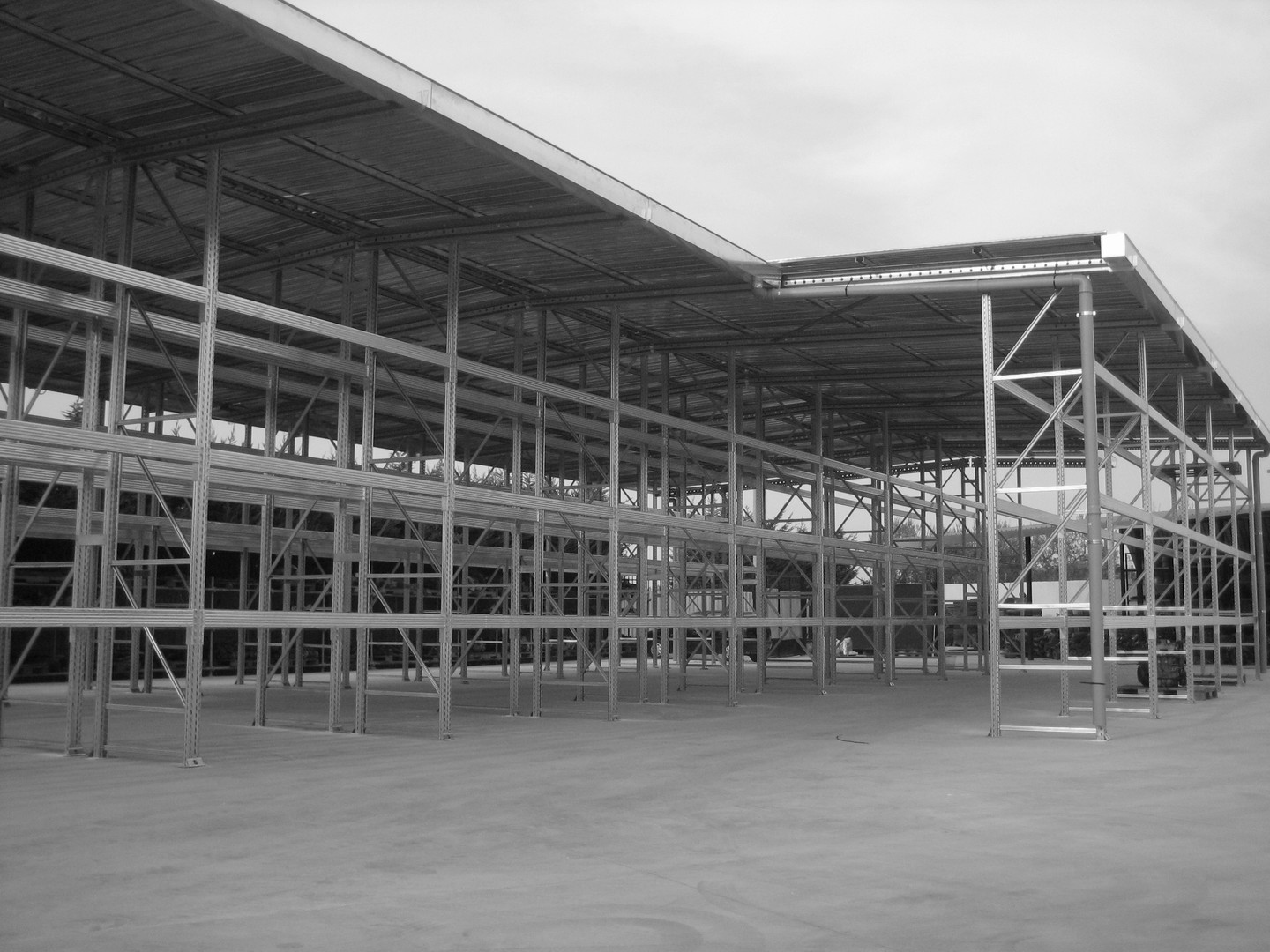Metal Warehouse Structure