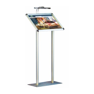 Menu Stand with light