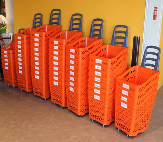 Plastic Trolleys