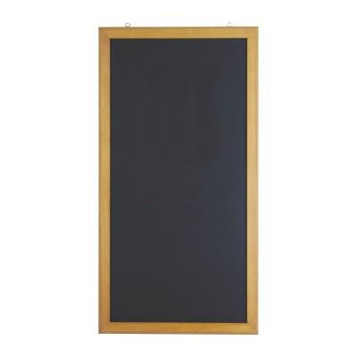 Wallmounted Chalk Wooden Black Board