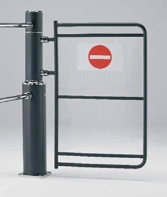 Swinging Access Gate