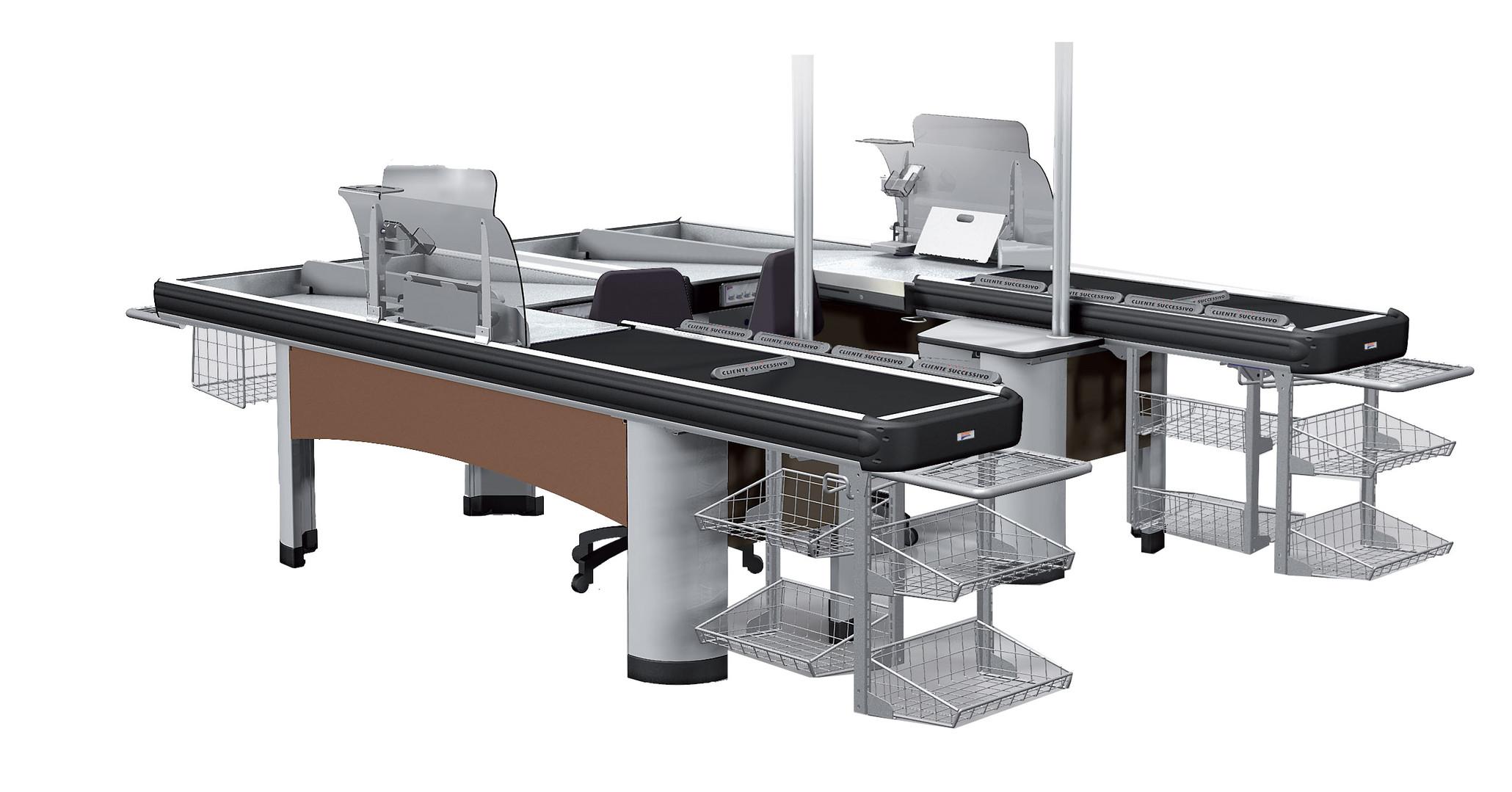 Cash-Point Desks