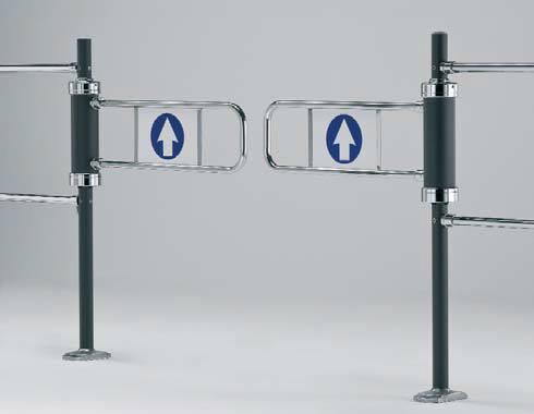 Double-Swing Access Gate