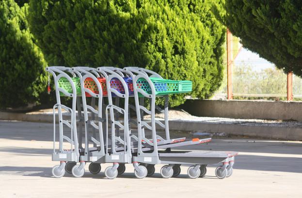 Wheelchair friendly Trolley
