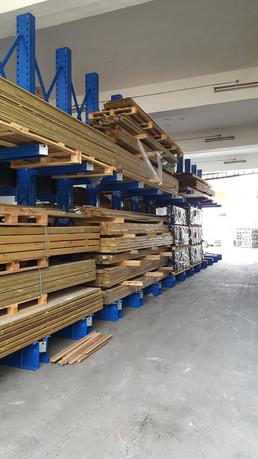 Organized timber